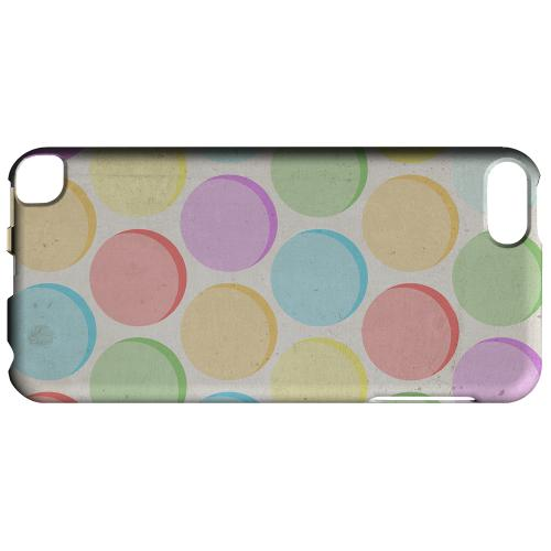 Geeks Designer Line (GDL) Slim Hard Case for Apple iPod Touch 5 - Grungy & Rainbow