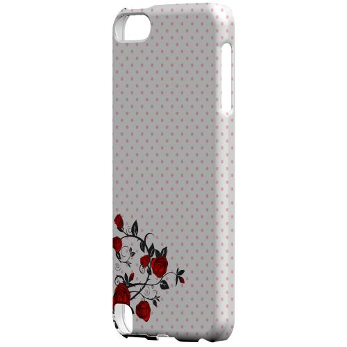 Geeks Designer Line (GDL) Slim Hard Case for Apple iPod Touch 5 - Rose Vine