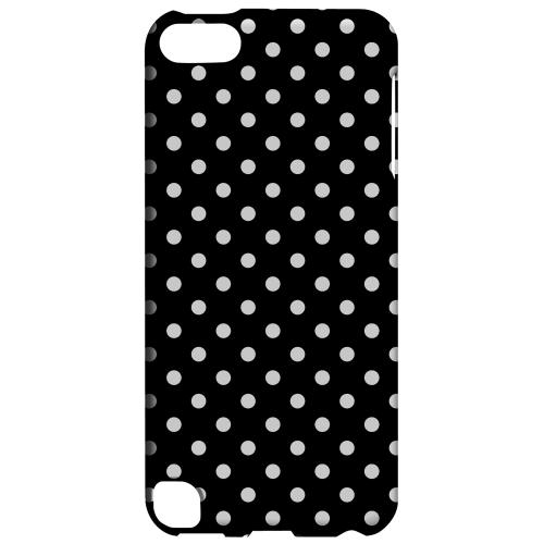 Geeks Designer Line (GDL) Slim Hard Case for Apple iPod Touch 5 - White Dots on Black
