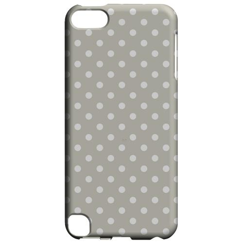 Geeks Designer Line (GDL) Slim Hard Case for Apple iPod Touch 5 - White Dots on Khaki
