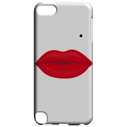 Geeks Designer Line (GDL) Slim Hard Case for Apple iPod Touch 5 - Glamour Lips