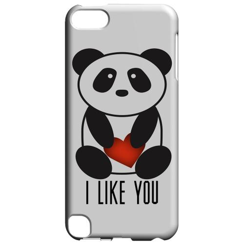 Geeks Designer Line (GDL) Slim Hard Case for Apple iPod Touch 5 - I Like You Panda