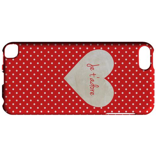 Geeks Designer Line (GDL) Slim Hard Case for Apple iPod Touch 5 - Je t'adore