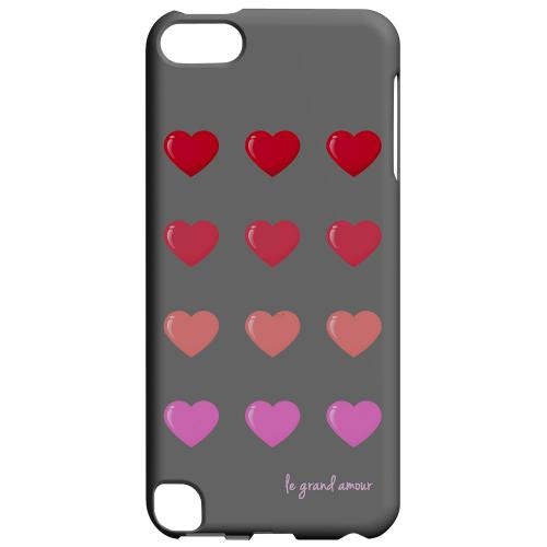 Geeks Designer Line (GDL) Slim Hard Case for Apple iPod Touch 5 - Le Grand Amour