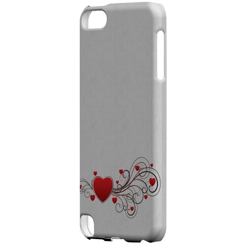 Geeks Designer Line (GDL) Slim Hard Case for Apple iPod Touch 5 - Love Bloom