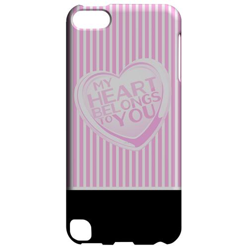 Geeks Designer Line (GDL) Slim Hard Case for Apple iPod Touch 5 - My Heart