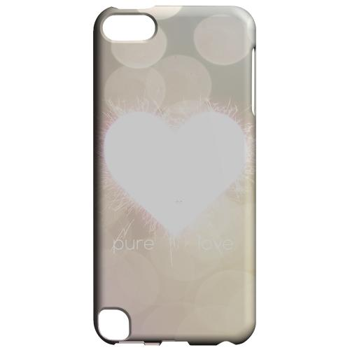 Geeks Designer Line (GDL) Slim Hard Case for Apple iPod Touch 5 - Pure Love
