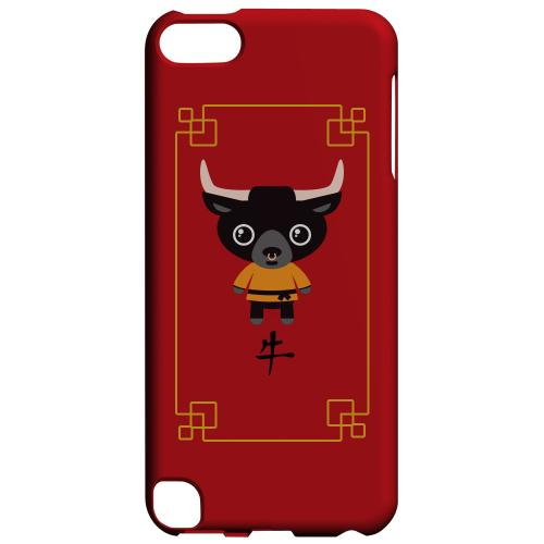Geeks Designer Line (GDL) Slim Hard Case for Apple iPod Touch 5 - Chibi Ox