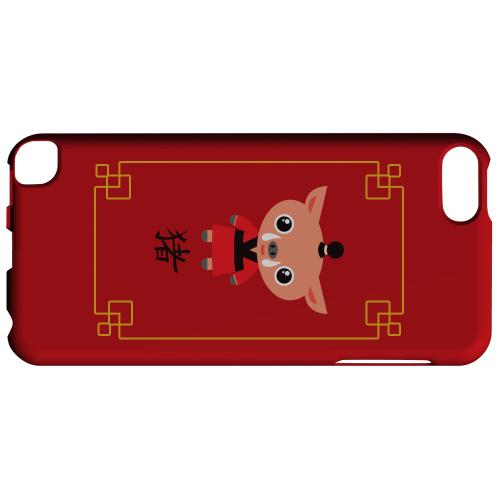 Geeks Designer Line (GDL) Slim Hard Case for Apple iPod Touch 5 - Chibi Pig