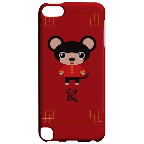 Geeks Designer Line (GDL) Slim Hard Case for Apple iPod Touch 5 - Chibi Rat
