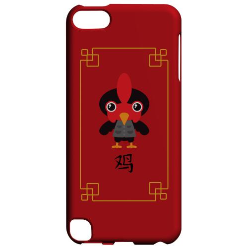 Geeks Designer Line (GDL) Slim Hard Case for Apple iPod Touch 5 - Chibi Rooster