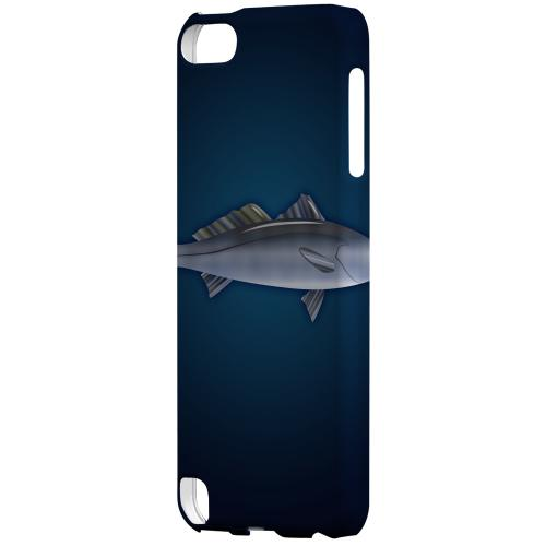 Geeks Designer Line (GDL) Slim Hard Case for Apple iPod Touch 5 - White Sea Bass