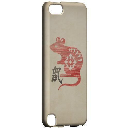 Geeks Designer Line (GDL) Slim Hard Case for Apple iPod Touch 5 - Grunge Rat