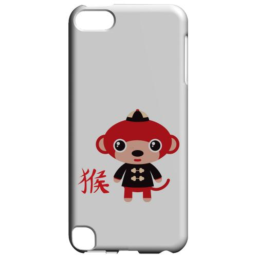 Geeks Designer Line (GDL) Slim Hard Case for Apple iPod Touch 5 - Monkey on White