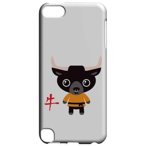 Geeks Designer Line (GDL) Slim Hard Case for Apple iPod Touch 5 - Ox on White