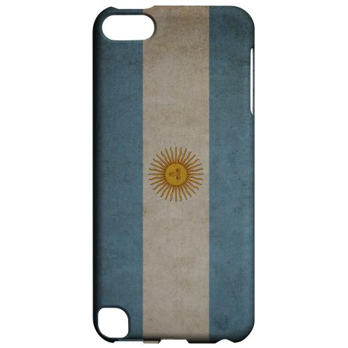 Geeks Designer Line (GDL) Slim Hard Case for Apple iPod Touch 5 - Grunge Argentina