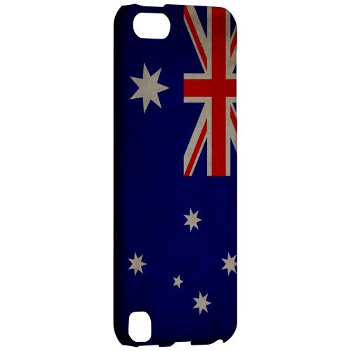 Geeks Designer Line (GDL) Slim Hard Case for Apple iPod Touch 5 - Grunge Australia