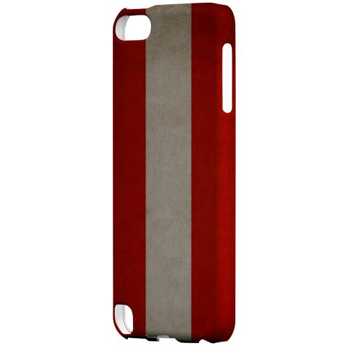Geeks Designer Line (GDL) Slim Hard Case for Apple iPod Touch 5 - Grunge Austria
