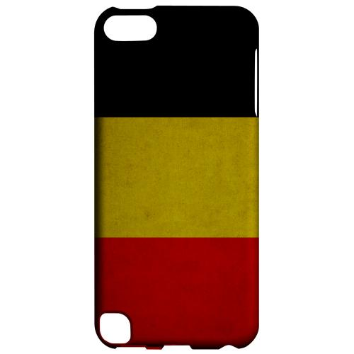 Geeks Designer Line (GDL) Slim Hard Case for Apple iPod Touch 5 - Grunge Belgium