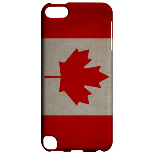 Geeks Designer Line (GDL) Slim Hard Case for Apple iPod Touch 5 - Grunge Canada