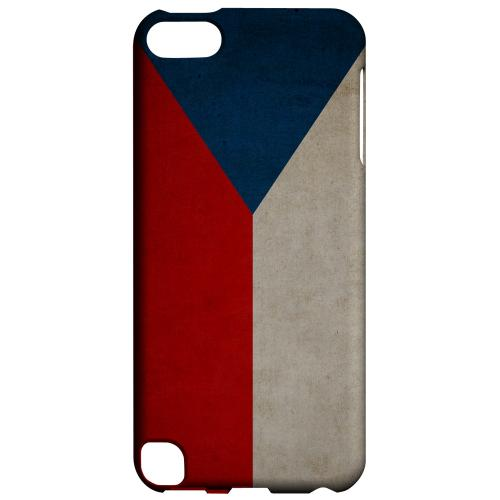 Geeks Designer Line (GDL) Slim Hard Case for Apple iPod Touch 5 - Grunge Czech Republic