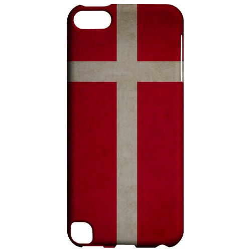 Geeks Designer Line (GDL) Slim Hard Case for Apple iPod Touch 5 - Grunge Denmark