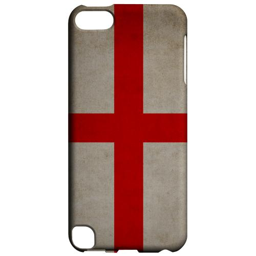 Geeks Designer Line (GDL) Slim Hard Case for Apple iPod Touch 5 - Grunge England