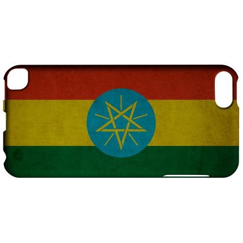 Geeks Designer Line (GDL) Slim Hard Case for Apple iPod Touch 5 - Grunge Ethiopia