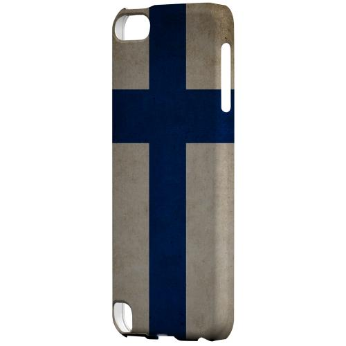 Geeks Designer Line (GDL) Slim Hard Case for Apple iPod Touch 5 - Grunge Finland