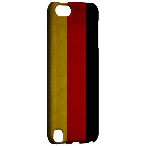 Geeks Designer Line (GDL) Slim Hard Case for Apple iPod Touch 5 - Grunge Germany