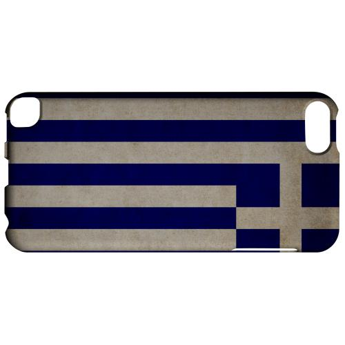 Geeks Designer Line (GDL) Slim Hard Case for Apple iPod Touch 5 - Grunge Greece