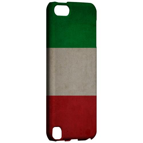 Geeks Designer Line (GDL) Slim Hard Case for Apple iPod Touch 5 - Grunge Italy