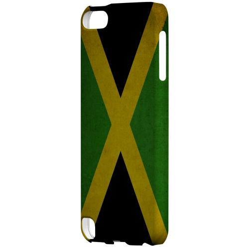Geeks Designer Line (GDL) Slim Hard Case for Apple iPod Touch 5 - Grunge Jamaica