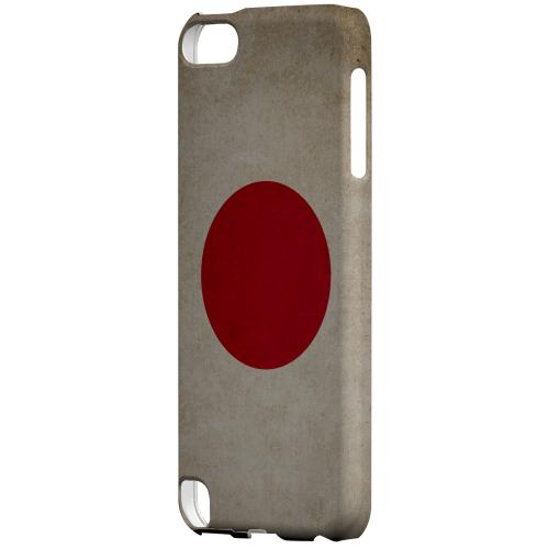 Geeks Designer Line (GDL) Slim Hard Case for Apple iPod Touch 5 - Grunge Japan
