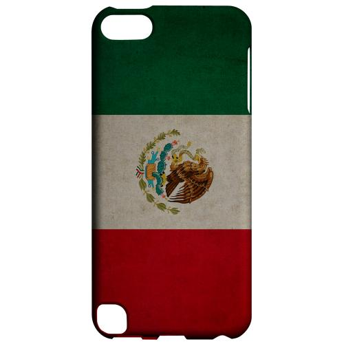 Geeks Designer Line (GDL) Slim Hard Case for Apple iPod Touch 5 - Grunge Mexico
