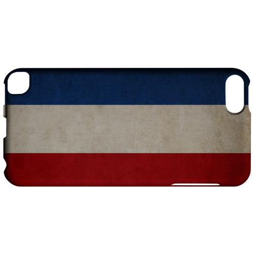 Geeks Designer Line (GDL) Slim Hard Case for Apple iPod Touch 5 - Grunge Netherlands
