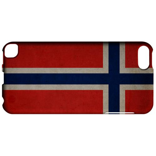 Geeks Designer Line (GDL) Slim Hard Case for Apple iPod Touch 5 - Grunge Norway