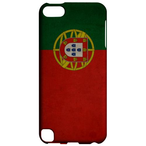 Geeks Designer Line (GDL) Slim Hard Case for Apple iPod Touch 5 - Grunge Portugal