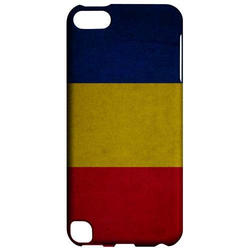 Geeks Designer Line (GDL) Slim Hard Case for Apple iPod Touch 5 - Grunge Romania