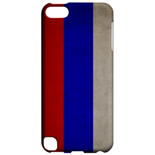 Geeks Designer Line (GDL) Slim Hard Case for Apple iPod Touch 5 - Grunge Russia