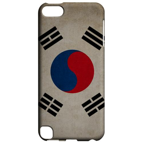 Geeks Designer Line (GDL) Slim Hard Case for Apple iPod Touch 5 - Grunge South Korea
