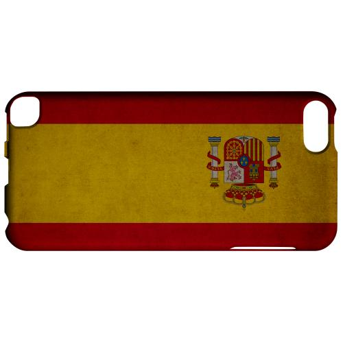 Geeks Designer Line (GDL) Slim Hard Case for Apple iPod Touch 5 - Grunge Spain