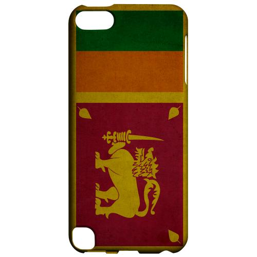Geeks Designer Line (GDL) Slim Hard Case for Apple iPod Touch 5 - Grunge Sri Lanka