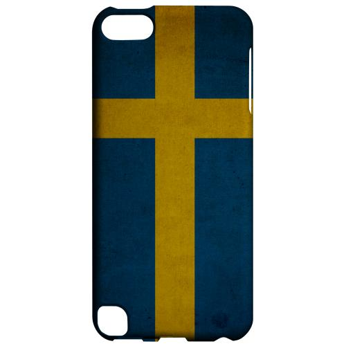 Geeks Designer Line (GDL) Slim Hard Case for Apple iPod Touch 5 - Grunge Sweden