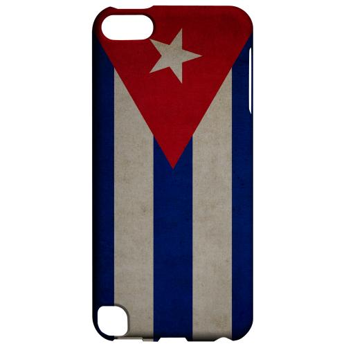Geeks Designer Line (GDL) Slim Hard Case for Apple iPod Touch 5 - Grunge Cuba