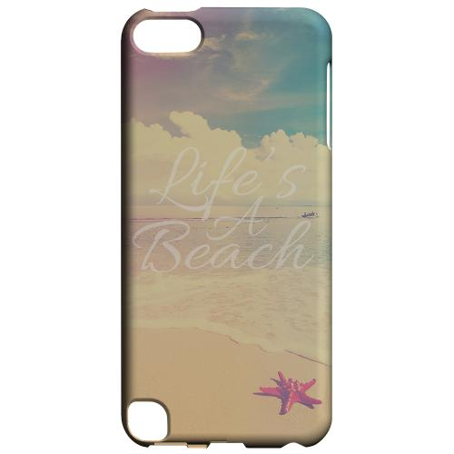 Geeks Designer Line (GDL) Slim Hard Case for Apple iPod Touch 5 - Life's A Beach