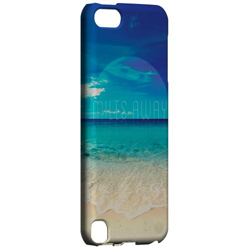 Geeks Designer Line (GDL) Slim Hard Case for Apple iPod Touch 5 - Miles Away