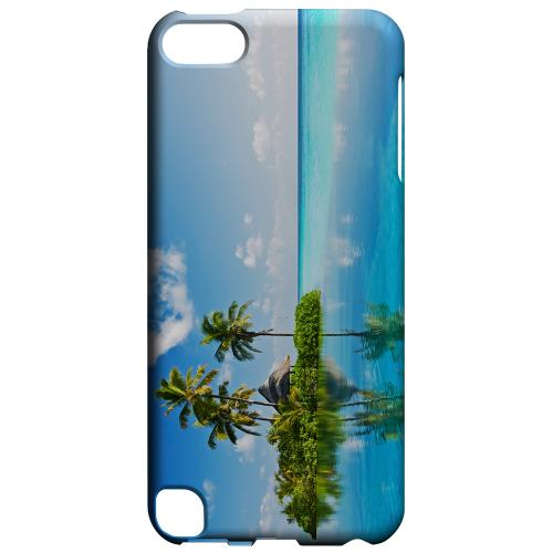 Geeks Designer Line (GDL) Slim Hard Case for Apple iPod Touch 5 - Tropical Paradise