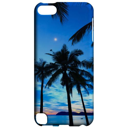 Geeks Designer Line (GDL) Slim Hard Case for Apple iPod Touch 5 - Tropical Sunset
