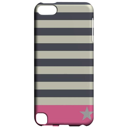 Geeks Designer Line (GDL) Slim Hard Case for Apple iPod Touch 5 - Bars & Stripes Forever